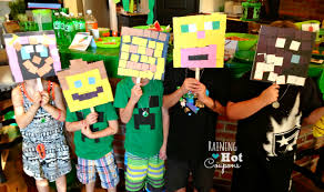 minecraft party 22 of the best minecraft birthday party ideas on the planet