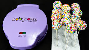cake pop maker cake pops with the babycakes cake pop maker by cookies