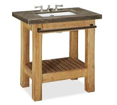 single sink console vanity abbott single sink vanity pottery barn