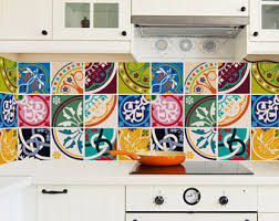 Sticker For Tiles Kitchen - traditional spanish tiles stickers tiles decals tiles for