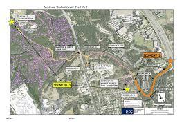 Map Of Austin Tx Walnut Creek Trail System Public Works Austintexas Gov The
