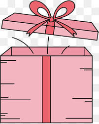 pink gift box open pink ribbon gift png image for free download