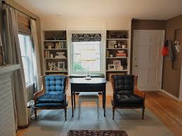 Ikea Billy Bookcases With Glass Doors by Cheap Office Room Storage Design With White Ikea Hemnes Bookcase