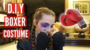 Boxer Halloween Costume Diy Boxer Costume Linda Christina Youtube