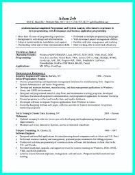 Resume Job In Linux by Computer Programmer Resume Examples To Impress Employers