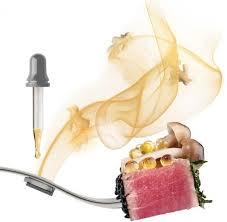 pour la cuisine aromafork est une fourchette utilisant les principes de la cuisine