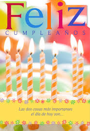 spanish thanksgiving prayer candles spanish language religious birthday card greeting cards