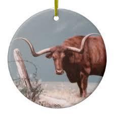 longhorn ornaments keepsake ornaments zazzle