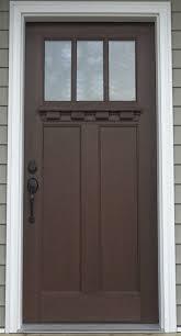 3 Panel Exterior Door Exterior Doors R Anell Homes