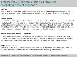 bunch ideas of sample thank you letter after interview management