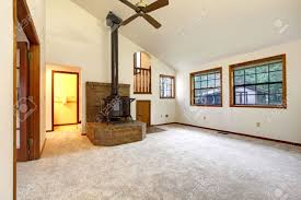 vaulted ceiling living room farm house living room with vaulted ceiling and carpet floor