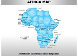 africa powerpoint maps u0027 powerpoint templates ppt slides images
