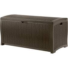 Patio Storage Chest by Suncast Resin Deck Box U2014 99 Gallon Capacity Model Dbw9200