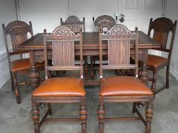 antique home decor ideas beautiful antique oak dining table 71 in home decorating ideas
