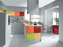 pyram cuisine armoires de cuisine en gris clair placards multicolores et