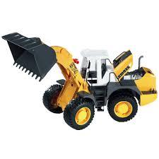 bruder excavator bruder 02430 liebherr articulated road loader l574 amazon co uk