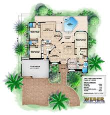 3 car garage dimensions cortona home plan weber design group