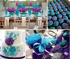 purple and blue wedding decorations wedding party decoration