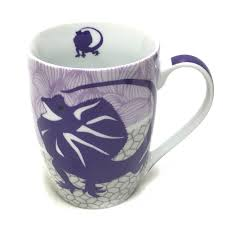 australian animal coffee mugs set 4