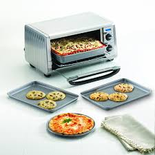 Can You Put Foil In A Toaster Oven Amazon Com Farberware Nonstick Bakeware 4 Piece Toaster Oven Set
