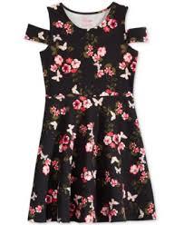 epic threads patchwork cold shoulder dress big girls 7 16