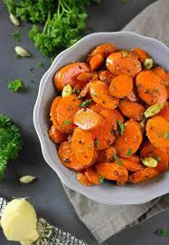 carrot side dish for thanksgiving ginger cardamom spiced carrots by runninsrilankan