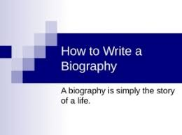 learn how to write a bio sketch with us bio sketch