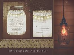 jar wedding invitations jar and string lights wedding invitations need wedding idea