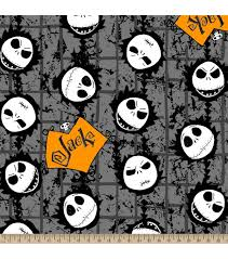 halloween fleece fabric nightmare before christmas jack joann