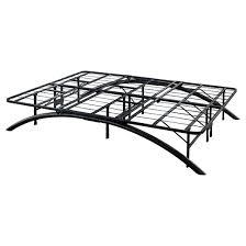 Metal Platform Bed Frames Arch Support Metal Platform Bed Frame Black Eco Dream Target