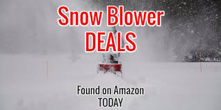 snow blower deals deals 2016 snow blowers
