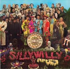 sargeant peppers album cover sgt pepper s lonely hearts club band album cover by silly