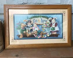 Home Interiors And Gifts Framed Art Barbara Mock Prints Etsy