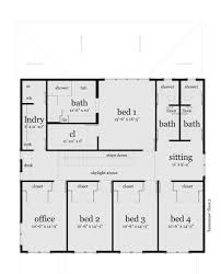 Home Design For 3000 Sq Ft by Modern Style House Plan 5 Beds 3 50 Baths 3000 Sq Ft Plan 64 203