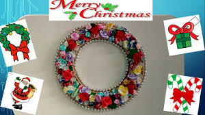 Christmas Decorations To Make At Home by Christmas Special How To Make Christmas Wreath At Home Youtube
