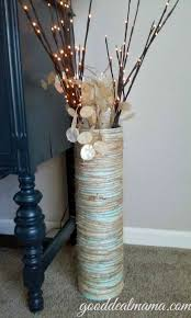 Large Vase With Twigs Tall