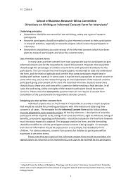 stunning interview consent form gallery resume samples u0026 writing