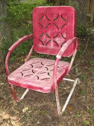 Vintage Wrought Iron Patio Furniture - vintage metal outdoor patio tulip chairs outdoor metal patio arm