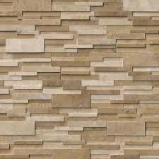 Sislers Stone - Stacked stone veneer backsplash