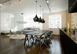 kitchen diner lighting ideas chic open plan lounge kitchen diner interior design ideas