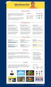 Best Free Resume Software by 25 Best Free Resume Cv Templates Psd Download Download Psd