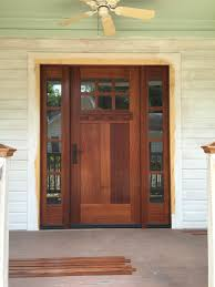 pleasurable front door exterior home deco contains strong wooden knotty alder craftsman entry door with side lites knotty alder