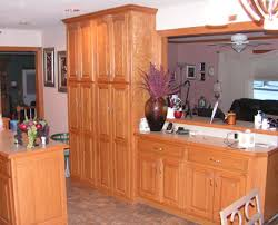 oak kitchen pantry cabinet custom kitchen red oak kc wood