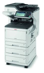 okidata mc873dnx all in one laser printer staples