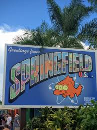 Map Of Universal Studios Florida by Springfield Universal Studios Florida Wikipedia