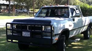 Dodge Ram 92 - 1993 dodge diesel cummins w250 youtube