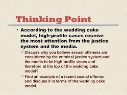 wedding cake model criminal justice wedding cake what does the demonstrate layers