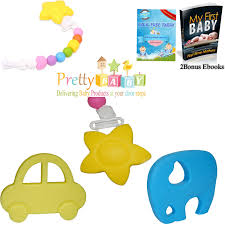 clip on pacifier elephant teether baby bear teether for baby