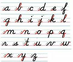 how write cursive handwriting the 25 best writing cursive ideas on cursive