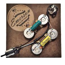 emerson custom sg prewired kit sg axe and you shall receive